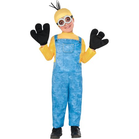 Minion Costume Accessories (Minion Kevin Halloween Costume for Boys, Extra Small, with)