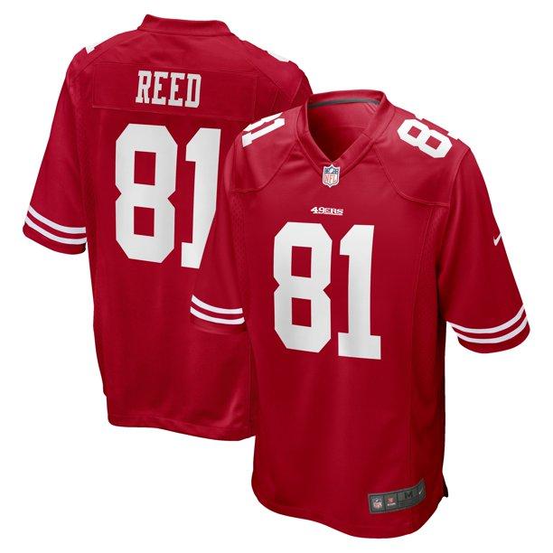 Jordan Reed San Francisco 49ers Nike Team Game Jersey - Scarlet