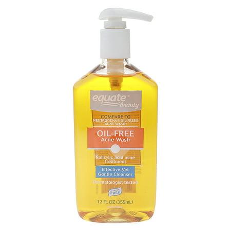Equate Beauty Oil-Free Acne Wash, 12 Fl Oz