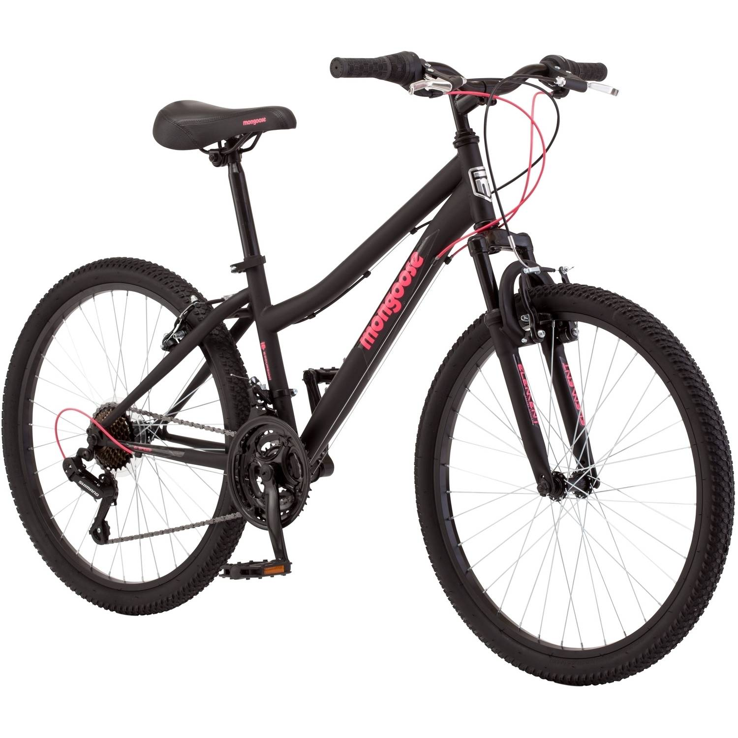 "24"" Mongoose Excursion Girls' Mountain Bike"