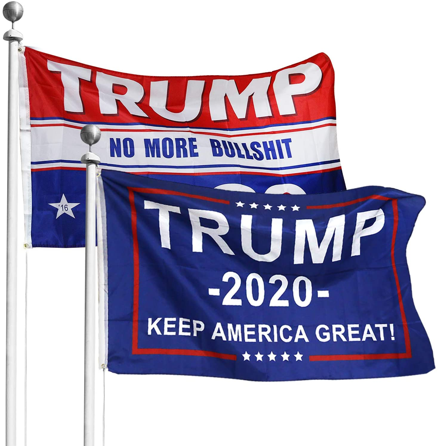 Donald Trump for President 2020 Keep America Great Flag 3x5 Feet W// Grommets Bs
