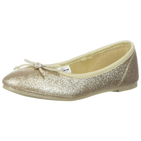 Gold Ballet Flats Toddler (Kids Carter's Girls Avelyn Slip On Ballet)
