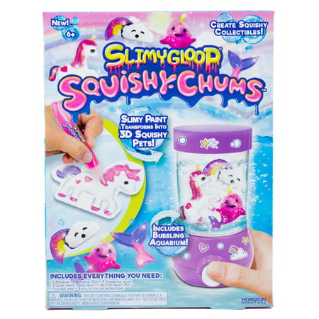 SlimyGloop Squishy Chums Mystical Aquarium