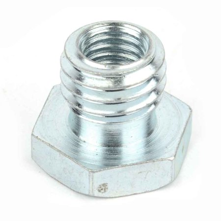 Threaded Spindle - Superior Electric GA-M1058 Grinder Adapter Converts M10 x 1.5 Grinder Arbor Threads into 5/8-11 Arbor Spindle