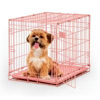 """MidWest iCrate Metal Dog Crate, Single Door, 24"""""""