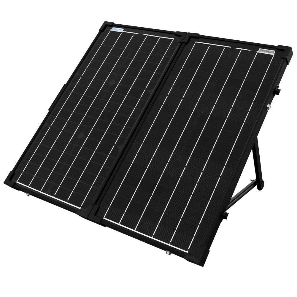 ACOPOWER 60 Watt 60W All Black Mono Foldable Solar Panel ...