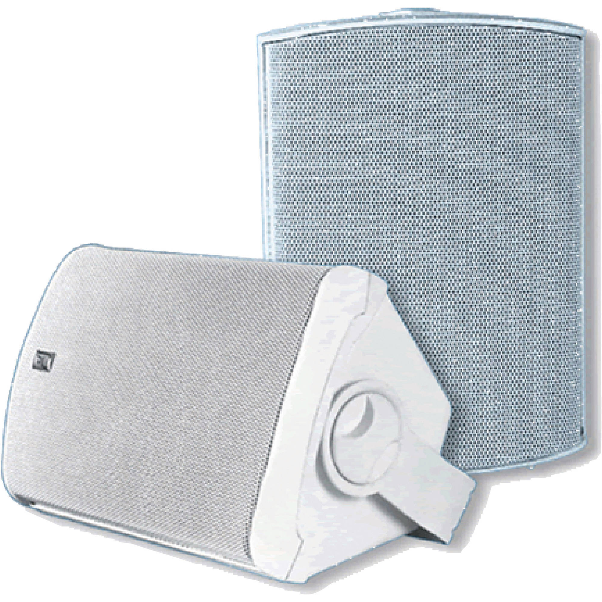 """Poly-Planar MA7500 Waterproof Compact Box Speakers 5-1/8"""" x 7-11/16"""" (Sold as Pair)"""