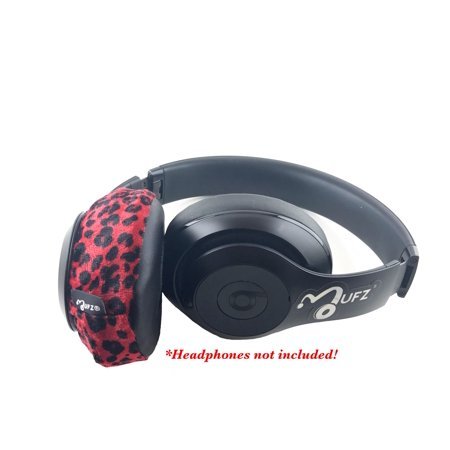 Red Cheetah Mufz (Over-Ear Headphone Covers)