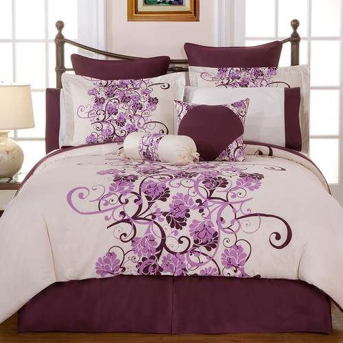 Pointehaven Grapevine 12 Piece Comforter Set