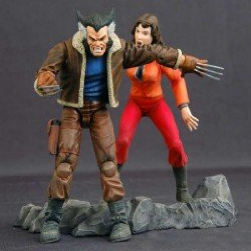 Toy Biz Marvel Select: Days of Future Past Wolverine Acti...