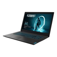 "Lenovo IdeaPad L340-17ICH 81LL0002US 17.3"" Gaming Notebook - Core i7-9750H - 8GB RAM - 1TB HDD - 128GB SSD - NVIDIA GeForce GTX 1650 - Black"