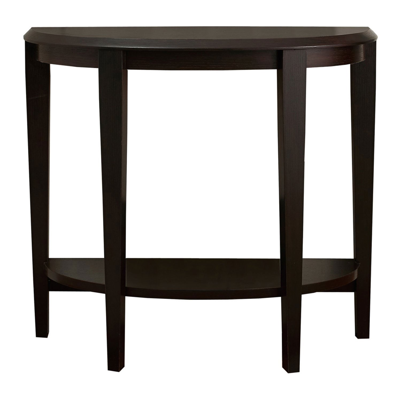 """Monarch Accent Table 36""""L / Cappuccino Hall Console"""