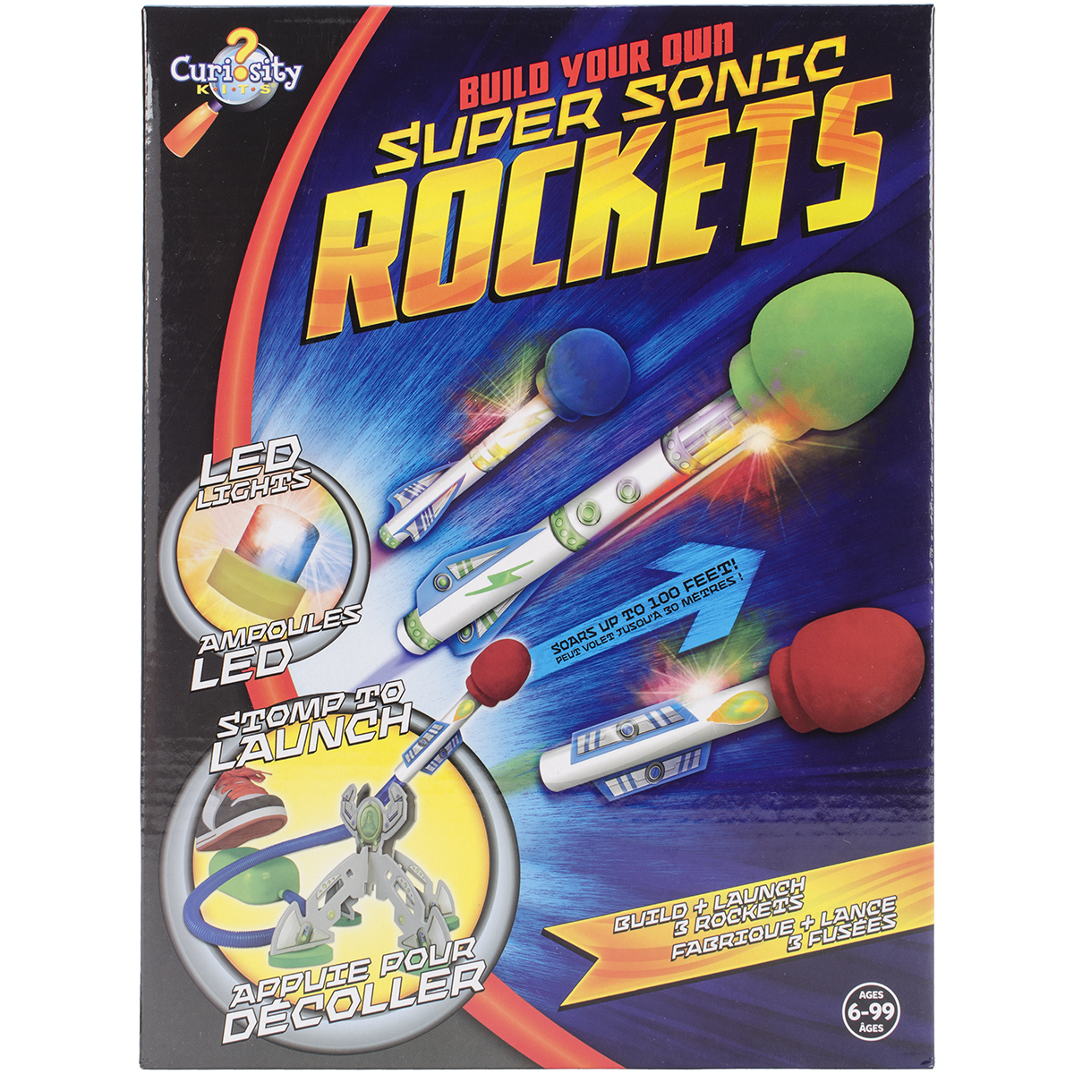 Build Your Own Kit-Super Sonic Rockets by