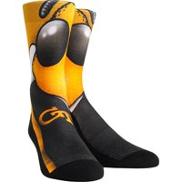 Rock Em Elite Georgia Tech Buzz Mascot NCAA Licensed Crew Socks
