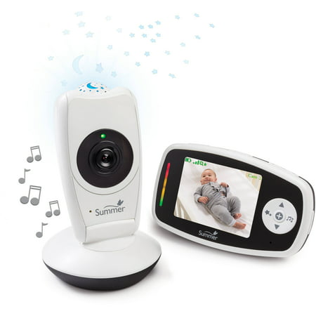 summer infant baby glow video monitor and projection camera. Black Bedroom Furniture Sets. Home Design Ideas