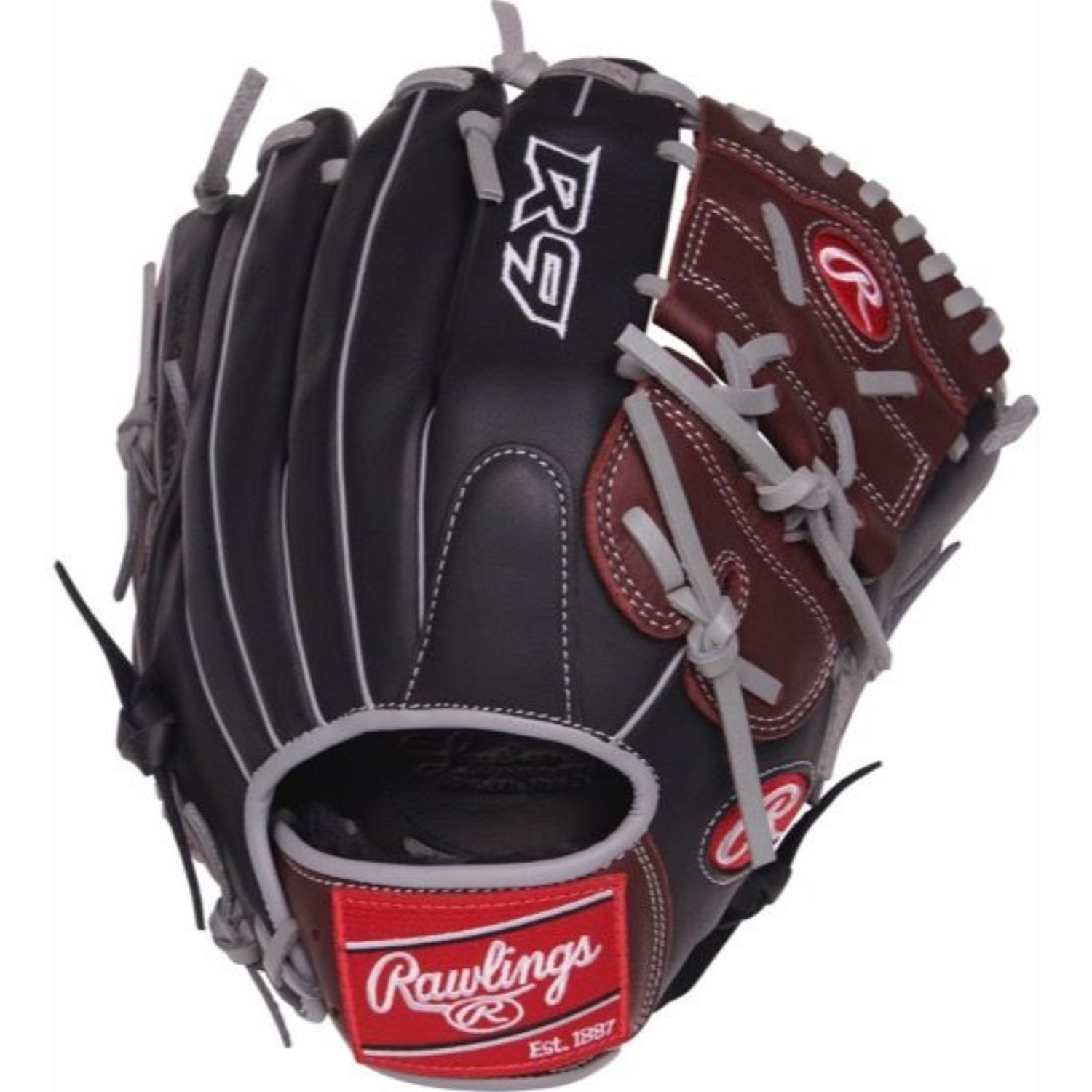 "Rawlings 12"" R9 Series Baseball Glove, Right Hand Throw"