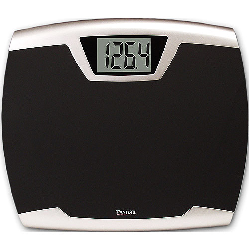 taylor lithium digital thin profile bath scale model 7340