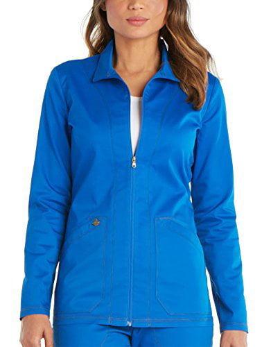 Dickies Women's Essense Warm-Up Jacket, Royal, XXS