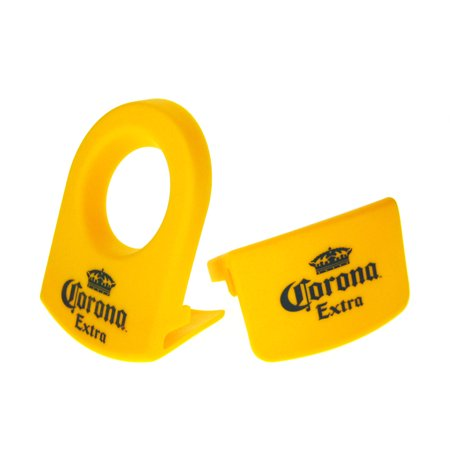 KIT-CoronaRita Yellow Drink Clips - For Margarita Glasses - Set of 8