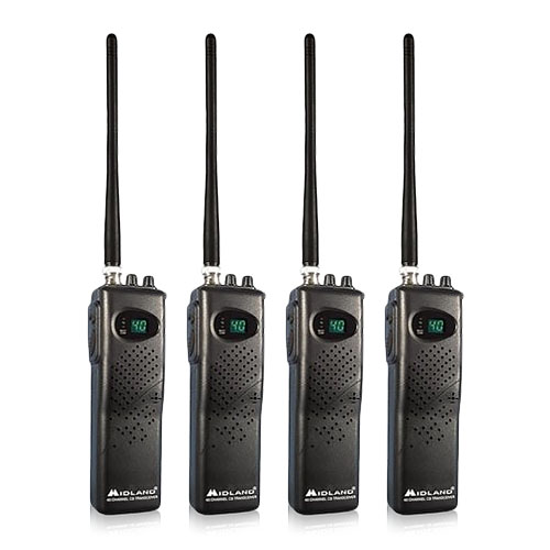 Midland 75-785 (4 Pack) CB Radio by Midland