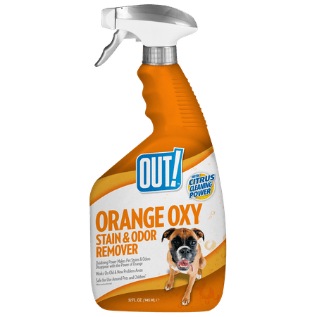 Orange Cat Odor Remover (OUT! Orange Oxy Stain and Odor Remover, 32 oz)