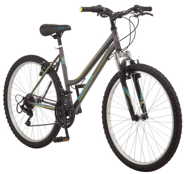 """26"""" Womens Roadmaster Granite Peak Mountain Bike, Gray"""