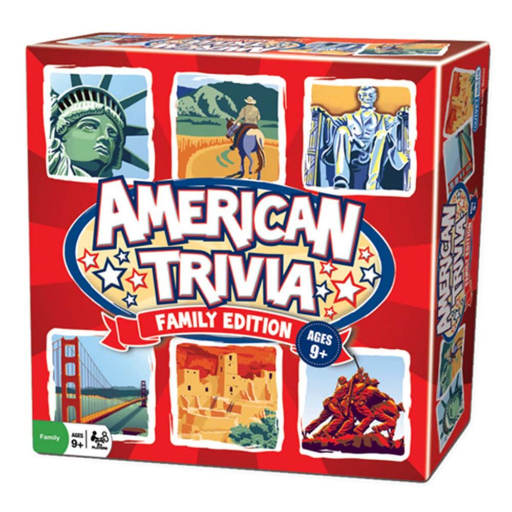 Outset American Trivia: Family Edition