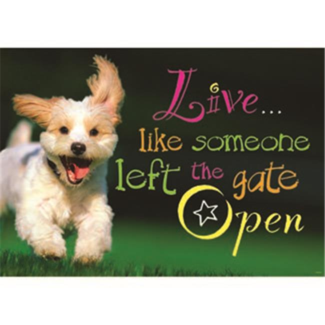 live like someone left the gate open argus poster