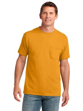Port & Company Core Cotton Pocket Tee