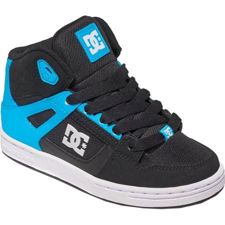 762fc5afaa Boys' DC Shoes Rebound SE Glow in the Dark High Top Sneaker