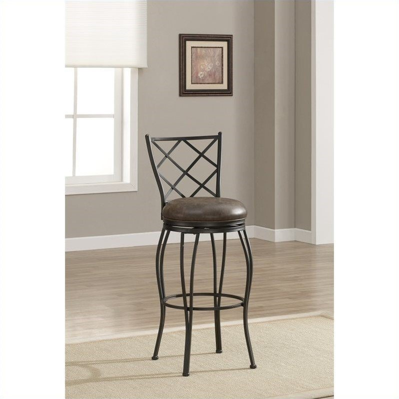 American Heritage Billiards Ava Bar Stool In Coco 30 Quot