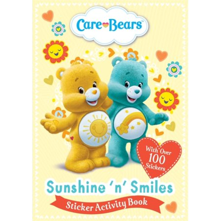 CARE BEARS SUNSHINE N SMILES STICKR ACTV (Sunshine Smile)