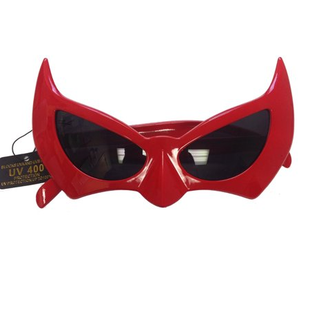 Batman Sunglasses Red Batgirl Catwoman Bat Cat Style Superhero Costume](Catwoman Accessories)