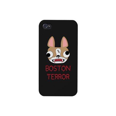 Boston Terror Terrier Black Phone Case