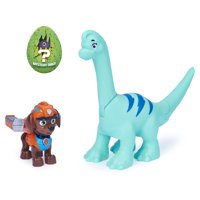PAW Patrol, Dino Rescue Zuma and Dinosaur Action Figure Set, for Kids Aged 3 and up