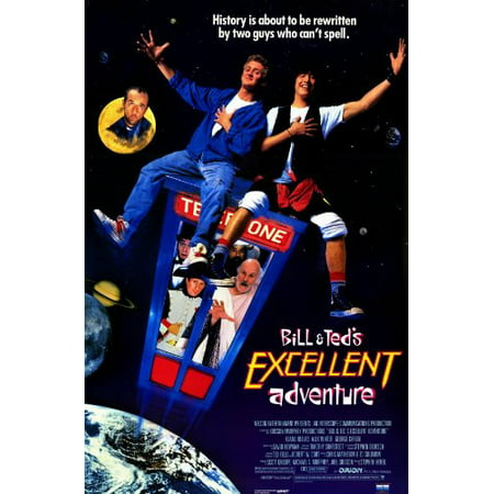 Bill And Teds Excellent Adventure Poster Movie 11X17 Keanu Reeves Alex Winter George Carlin