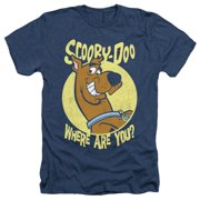 Scooby Doo - Where Are You - Heather Short Sleeve Shirt - Medium