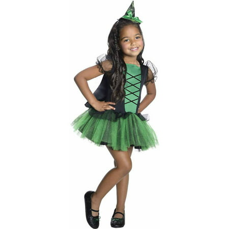 Wizard of Oz Wicked Witch of the West Tutu Girls' Child Halloween Costume