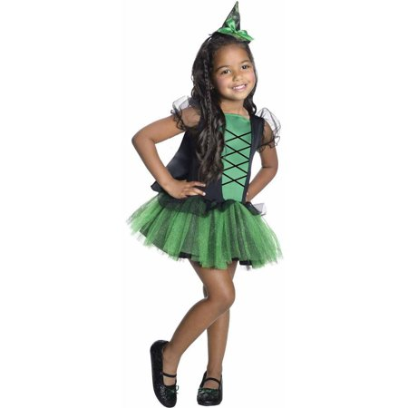 Wizard Of Oz Toddler Costumes (Wizard of Oz Wicked Witch of the West Tutu Girls' Child Halloween)
