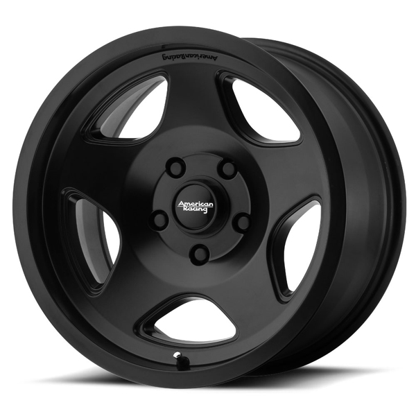 "American Racing AR923 17x8 5x139.7/5x5.5""+0mm Satin Black Wheel Rim"