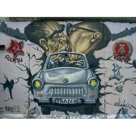 East Side Gallery, Remains of the Berlin Wall, Berlin, Germany, Europe Print Wall Art By Morandi (Best Art Galleries In Europe)
