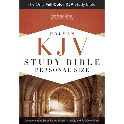Holman KJV Study Bible: King James Version, Personal Size