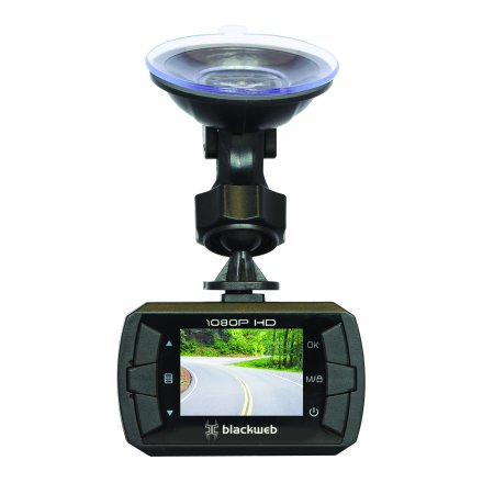 Blackweb Digital Dash cam With 1080P Camera And Sd Card (Blk Digital Cam)