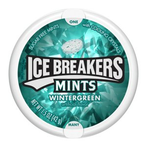 Ice Breakers, Sugar Free Mints in Wintergreen, 1.5 Ounce