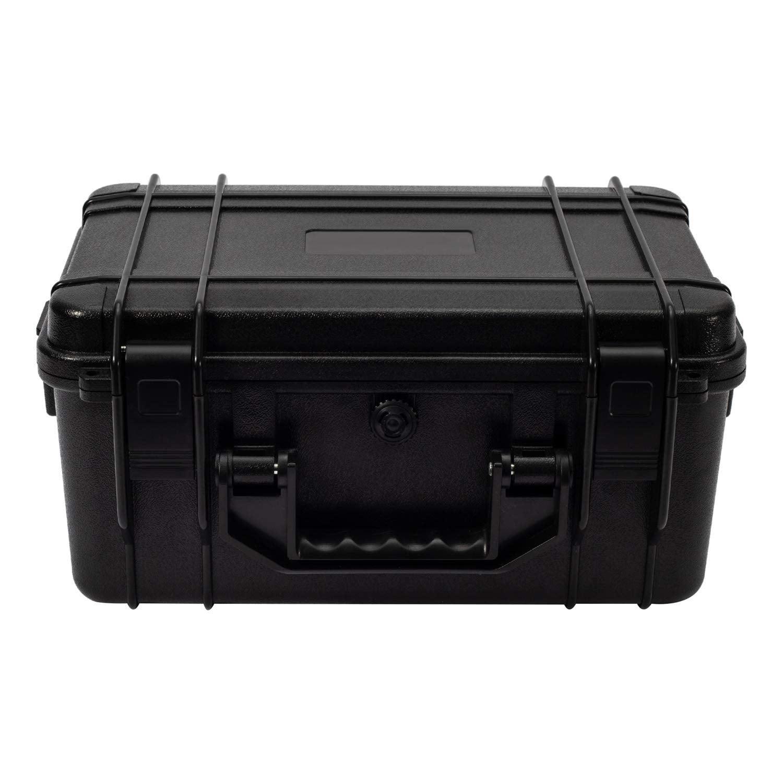 Waterproof Tool Box Storage Hard Carry Case Plastic Organizer Portable w//Foam