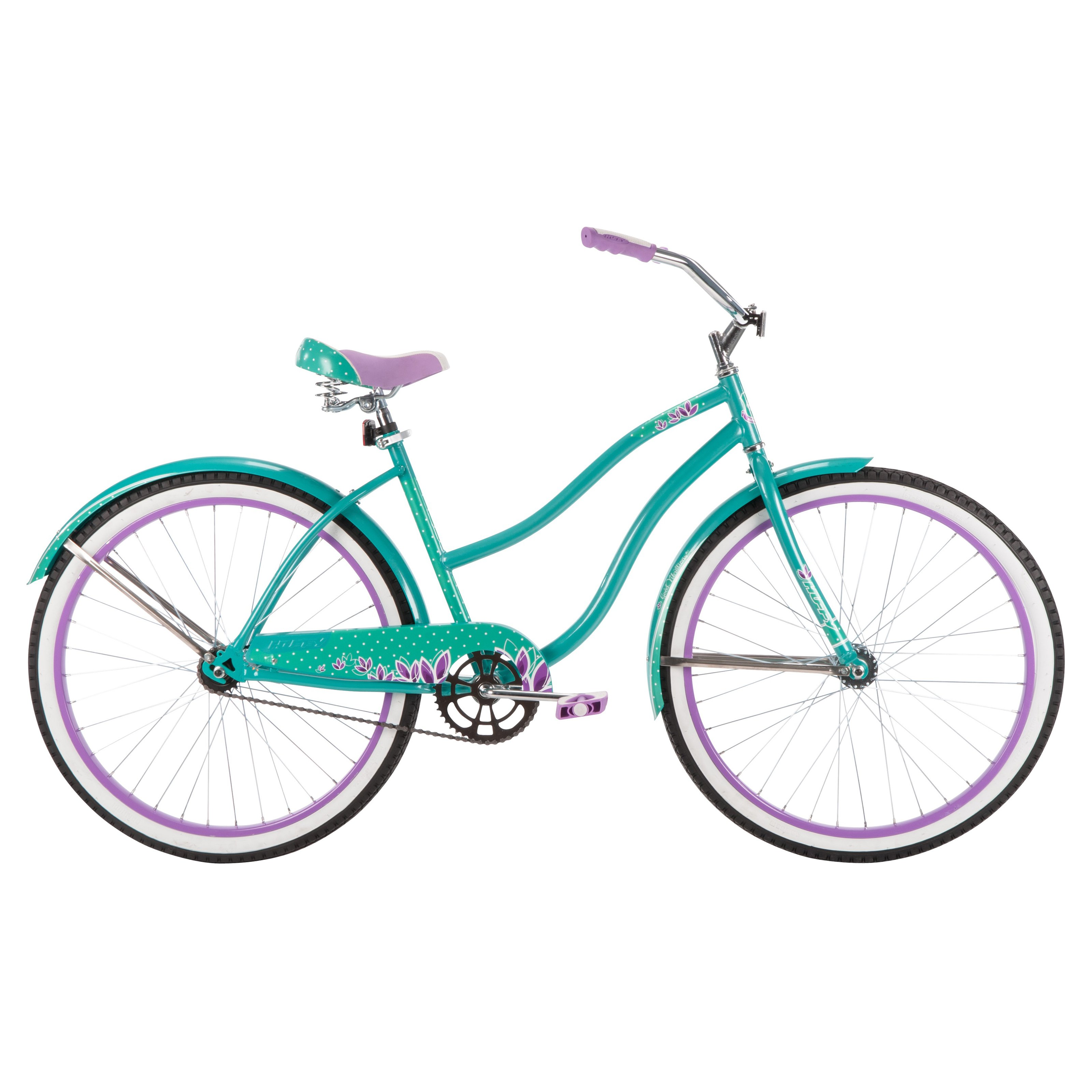 Huffy Good Vibrations 26 in. Classic Cruiser Turquoise by Huffy Bicycles