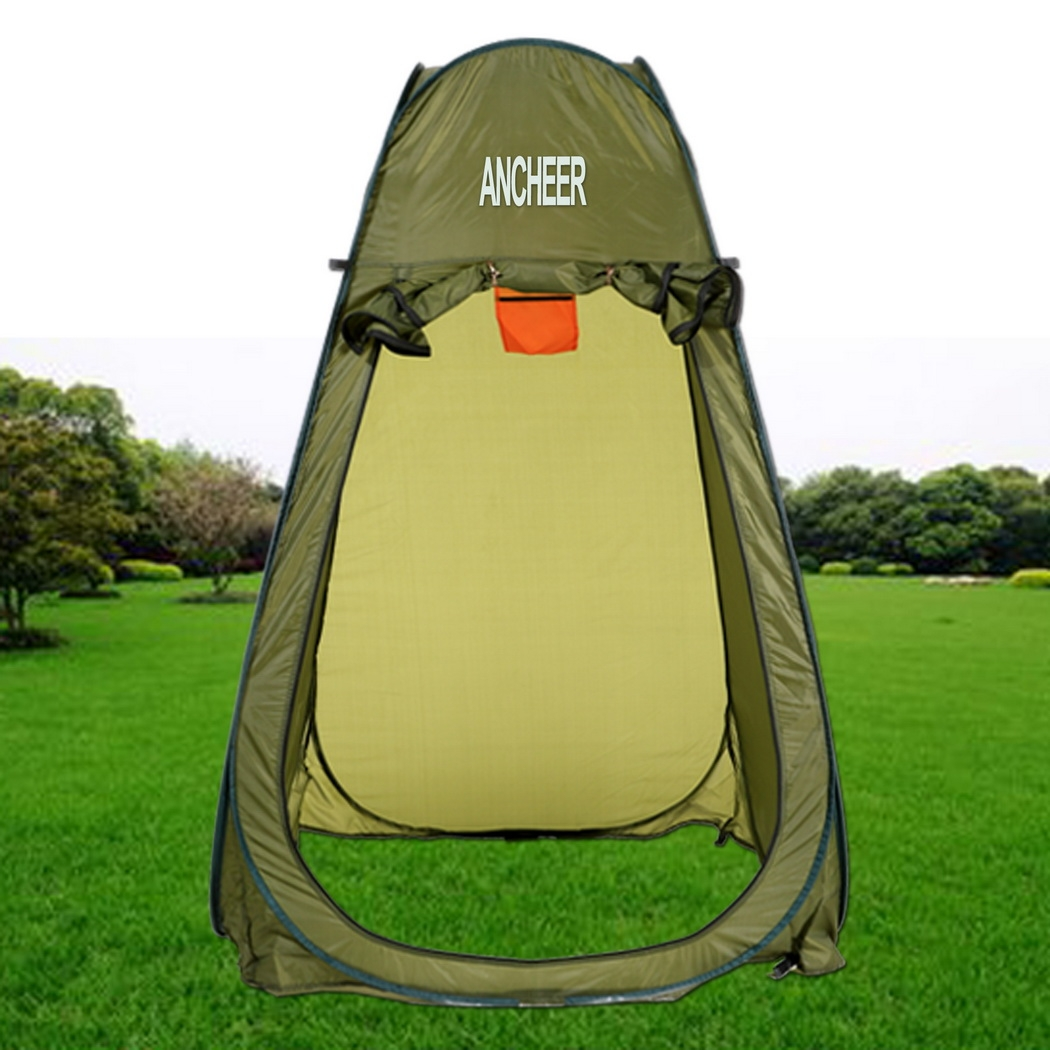 Ancheer Outdoor Portable Shower Changing TentC&ing Toilet Pop Up Tent With Bag  sc 1 st  Walmart & Ancheer Outdoor Portable Shower Changing TentCamping Toilet Pop ...