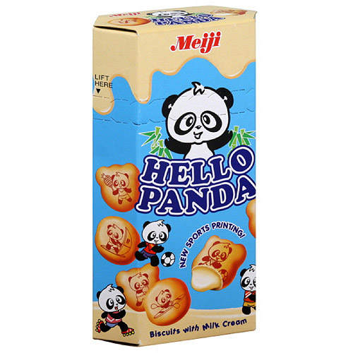 Meiji Milk Chocolate Cream Filled Biscuits, 2 oz (Pack of 10)