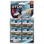 TDK MC-60 Microcassette tape 6PK