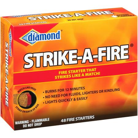 - Diamond® Strike-A-Fire® Fire Starters 48 ct Box